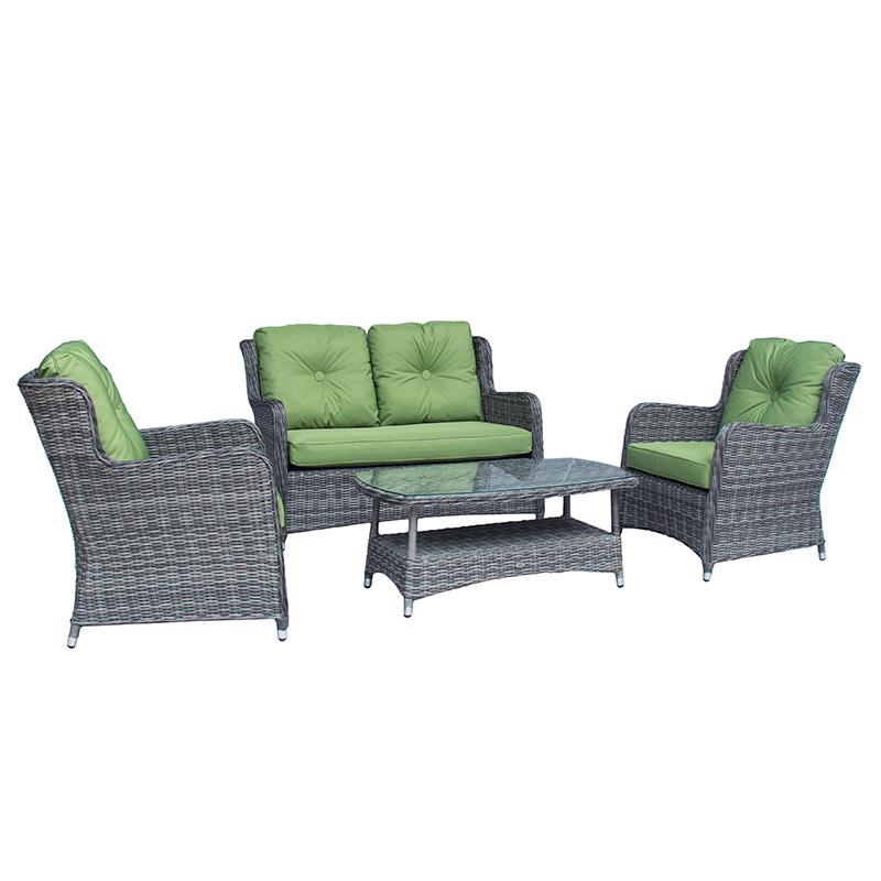 Katie Blake Seville 2 Seat Sofa With Coffee Table