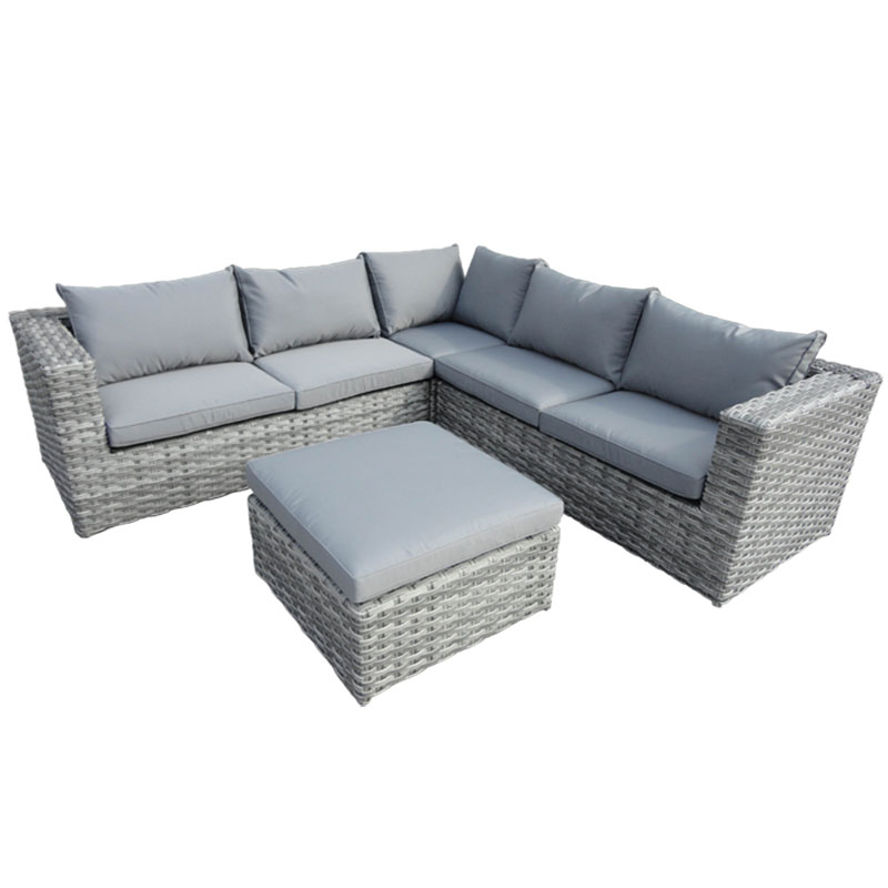 Havana Corner Unit with Cushion Corner Cool Grey