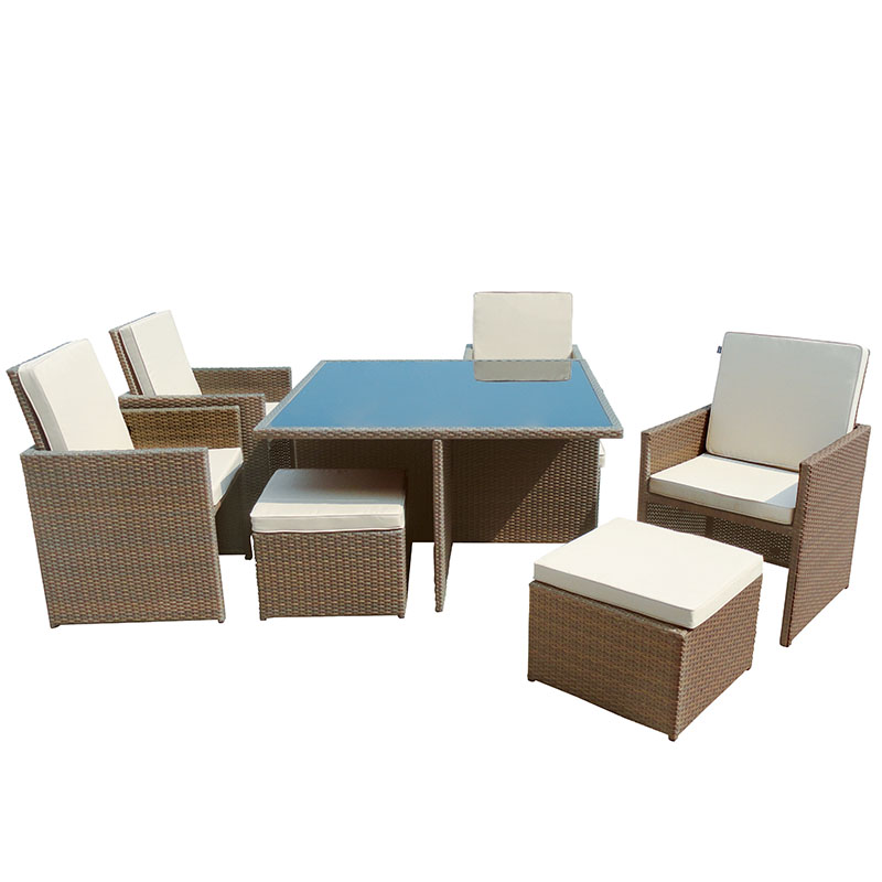 Sandringham 4 Seat Cube Set