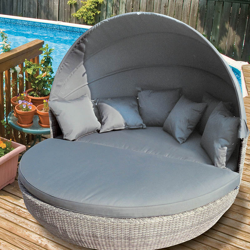 canopy day bed wicker patio furniture katie blake sandringham day bed canopy and coffee table