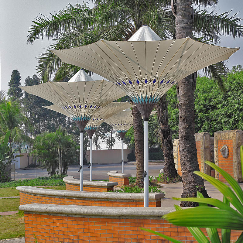 Fluted Parasol
