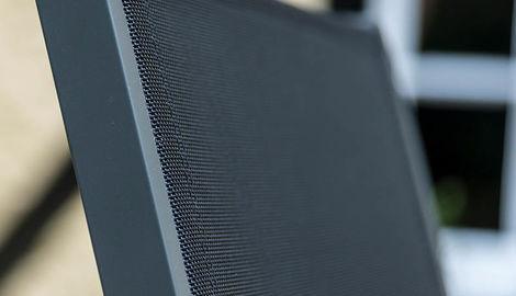 Aluminium 4 High Back Chair Set