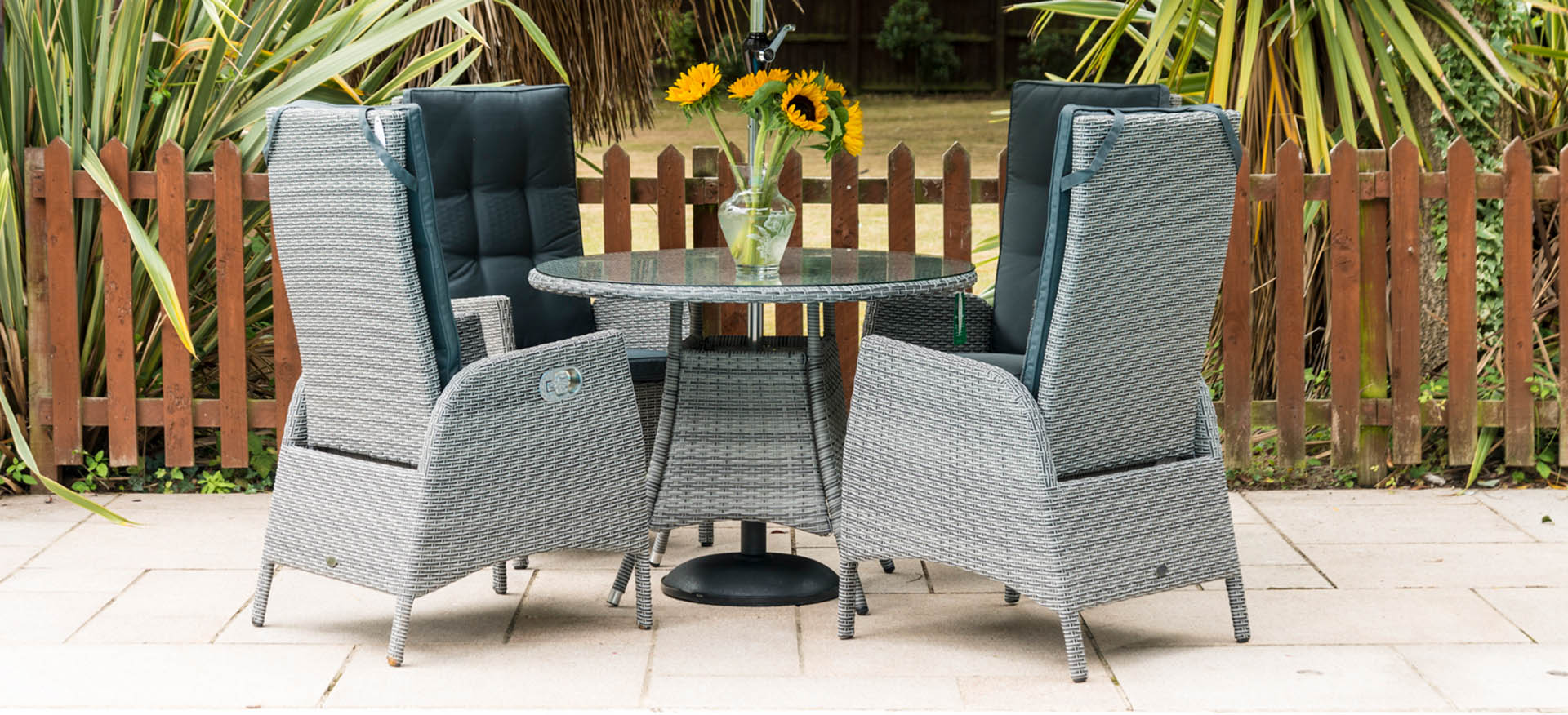 Sandringham 4 Chair Reclining Set