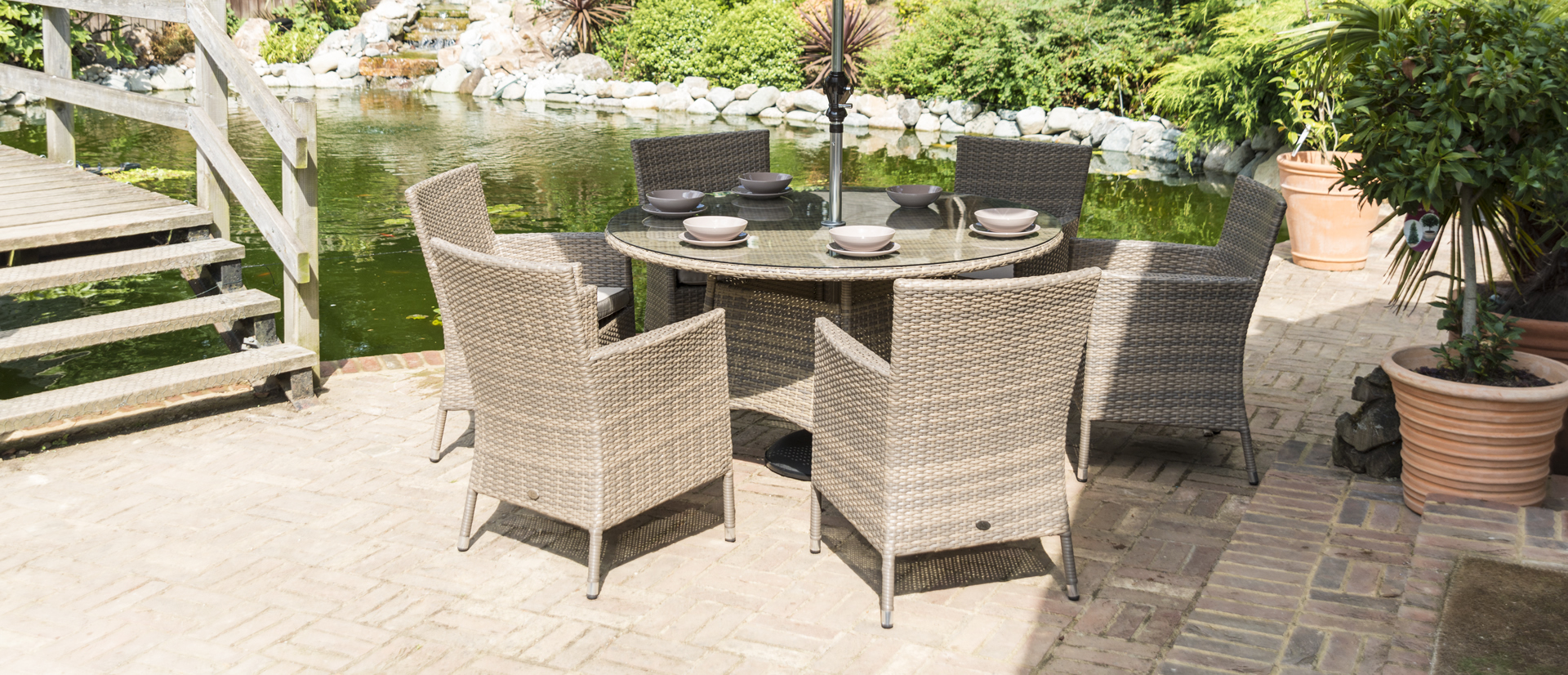 Sandringham 6 Chair Round Set