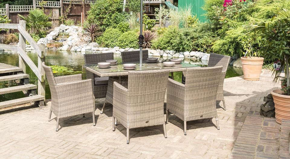 Sandringham 6 Chair Rectangular Set