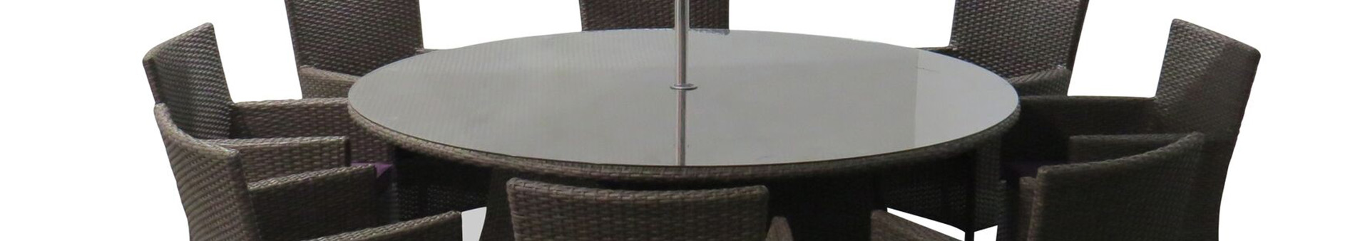 Sandringham 8 Seat Dining Set Round