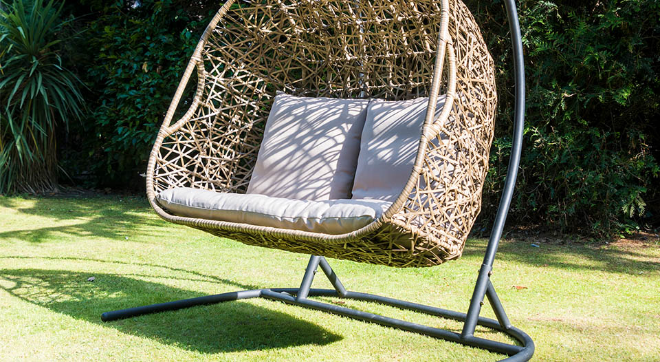 Seville Double Hanging Egg Chair