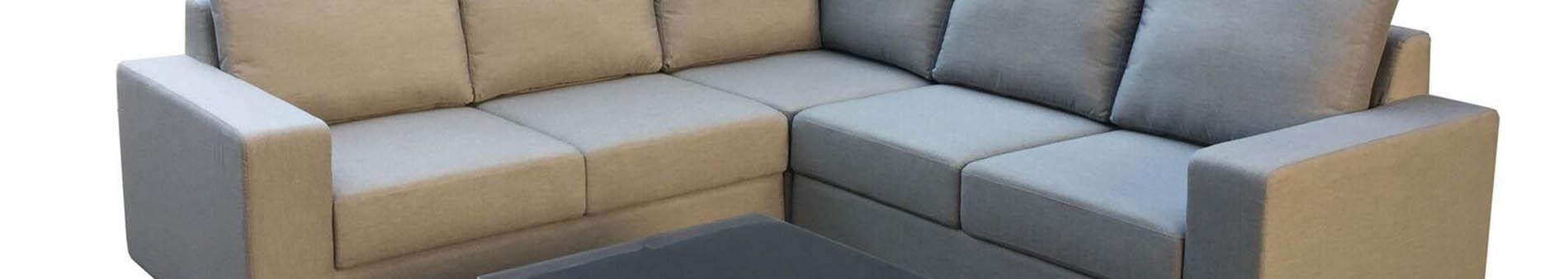 Outdoor Fabric Corner Set
