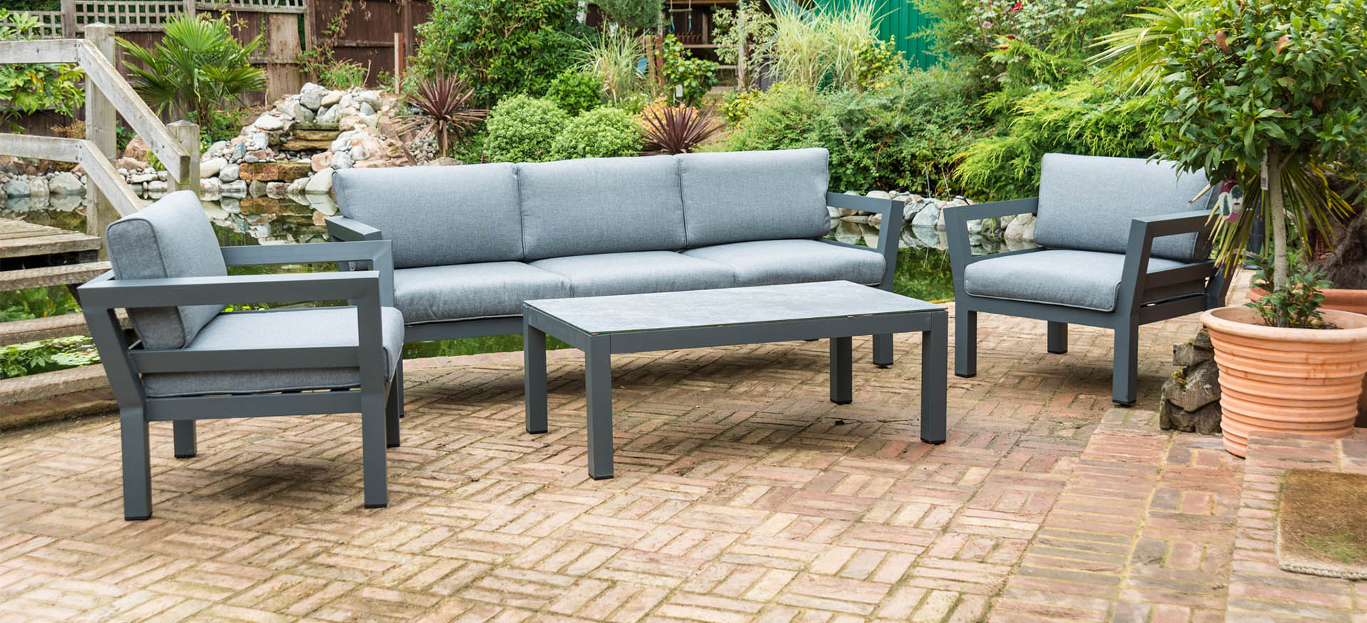 Henley 3 Seat Sofa Set