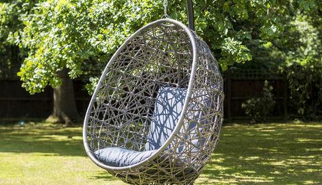 Single Hanging Egg Chair