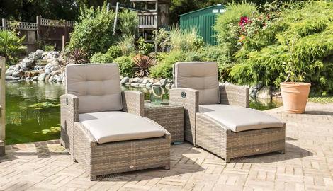 Sandringham Luxury Reclining Lounger Set