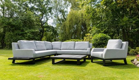 Outdoor Fabric Sofa Set
